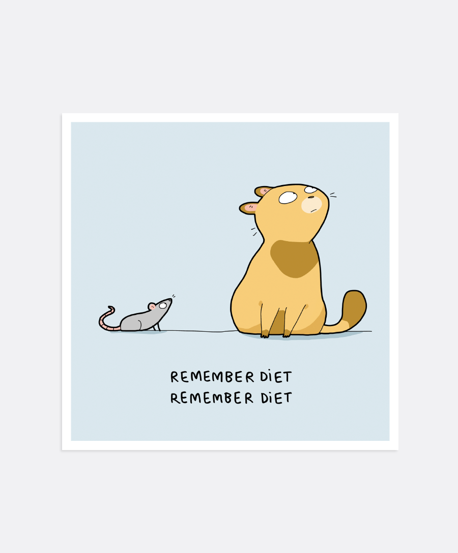 Remember Diet Mini-Print