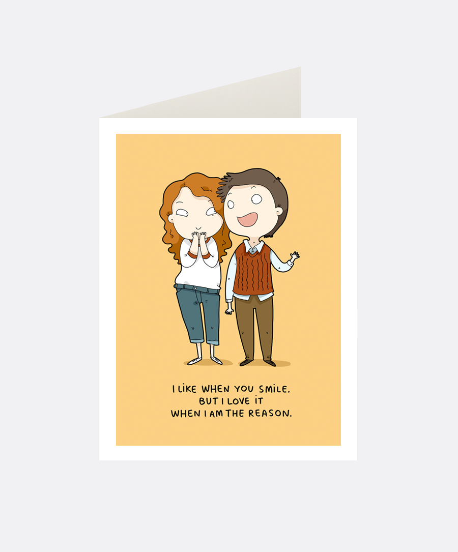 Your Smile Greeting Card