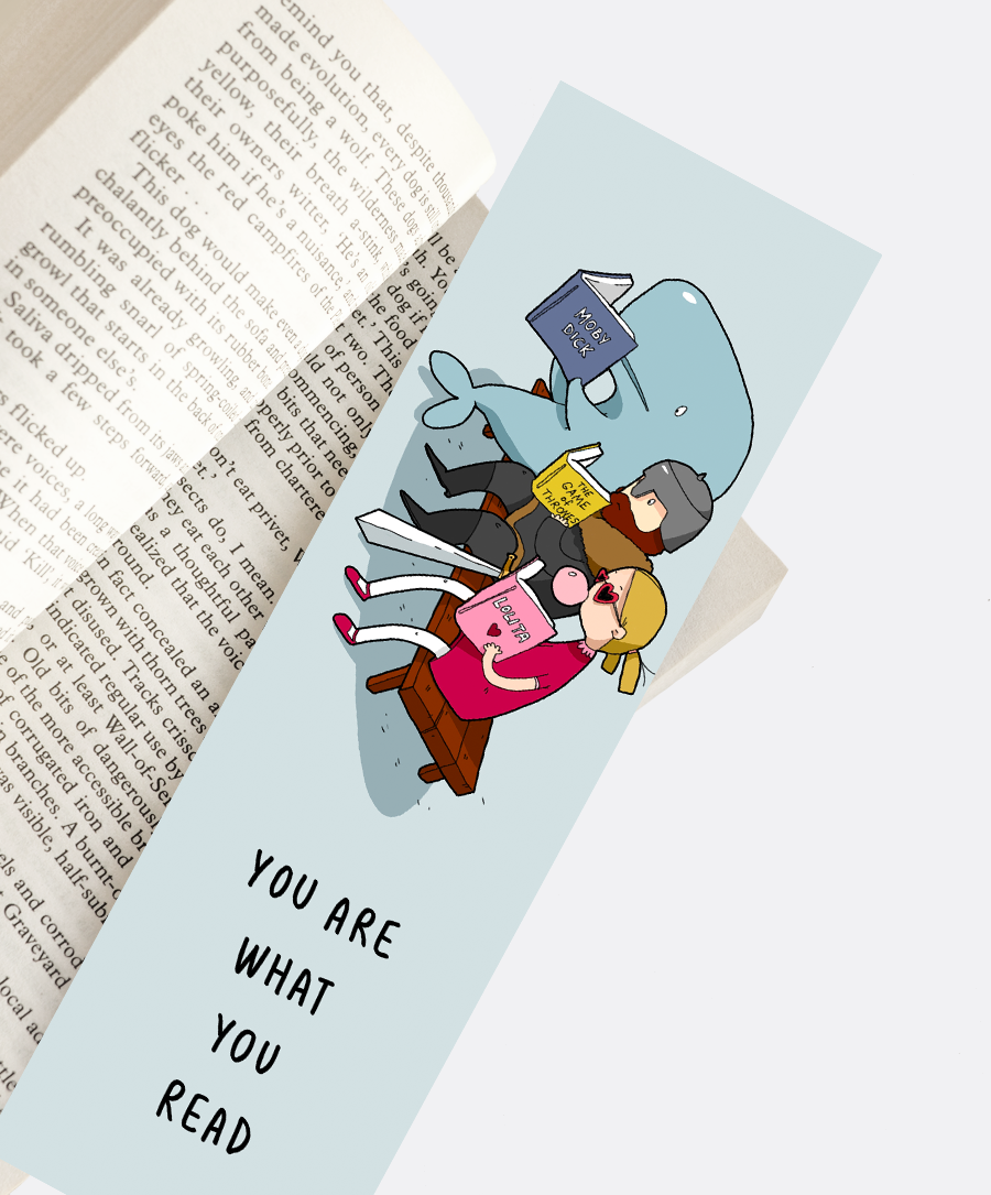 What You Read Bookmark