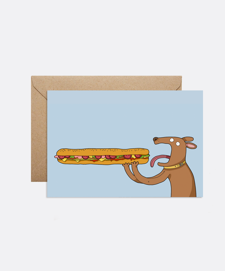 Ultimate Sandwich Card
