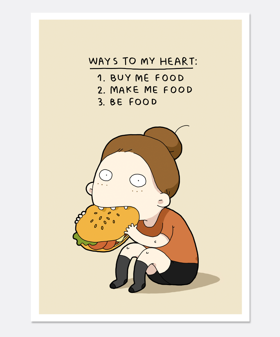 Ways To My Heart Print