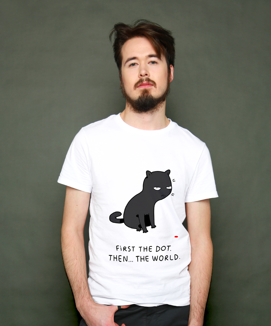 First The Dot Unisex T-Shirt
