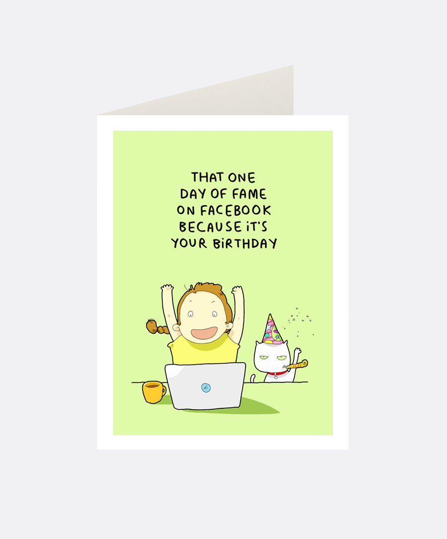Day Of Fame Greeting Card