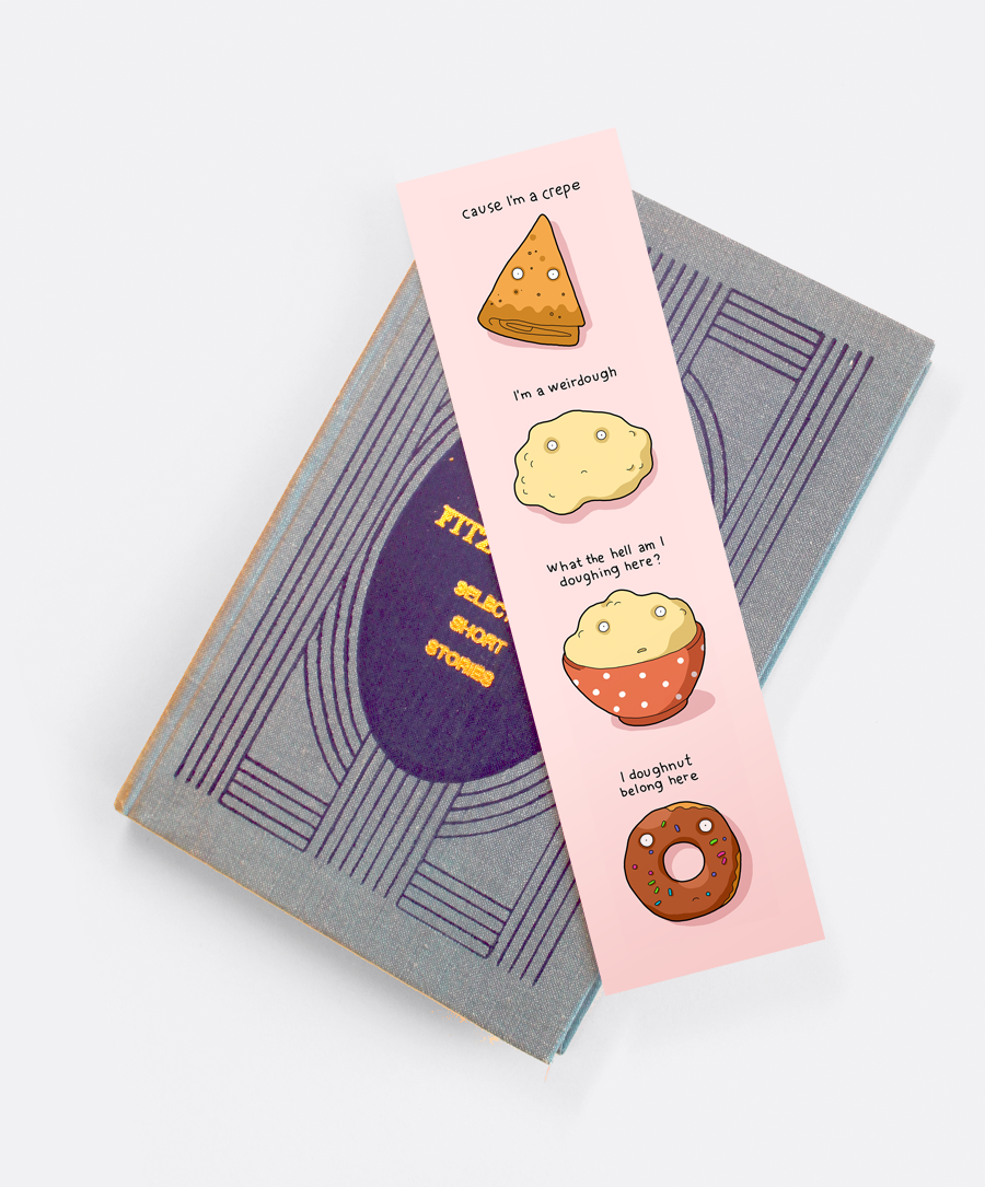 Crepe Bookmark