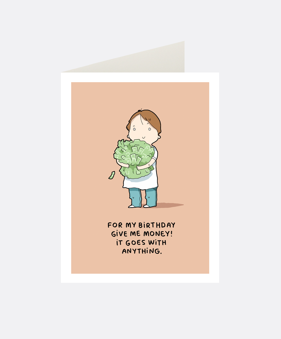 Money Greeting Card