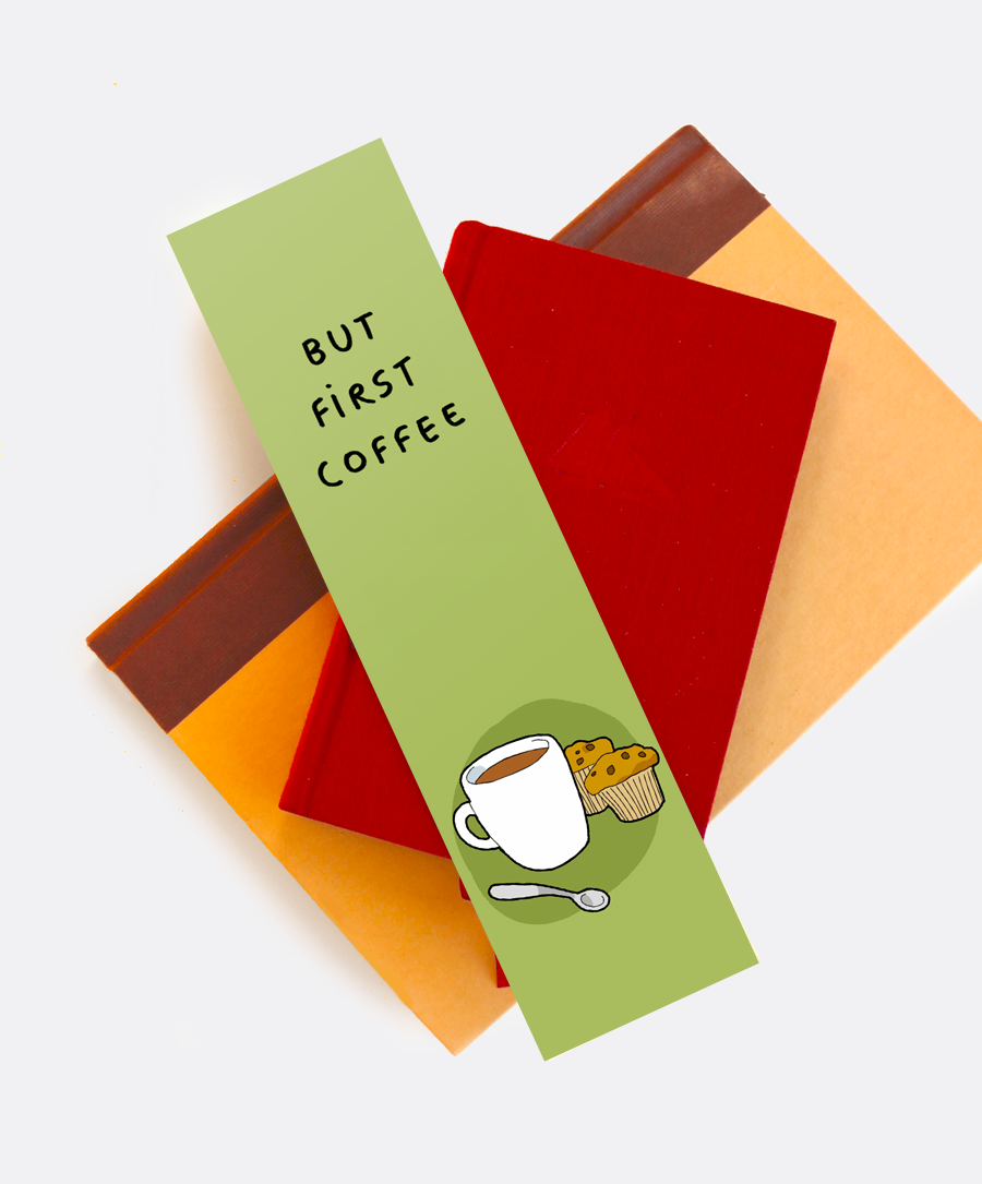 But First Coffee Bookmark