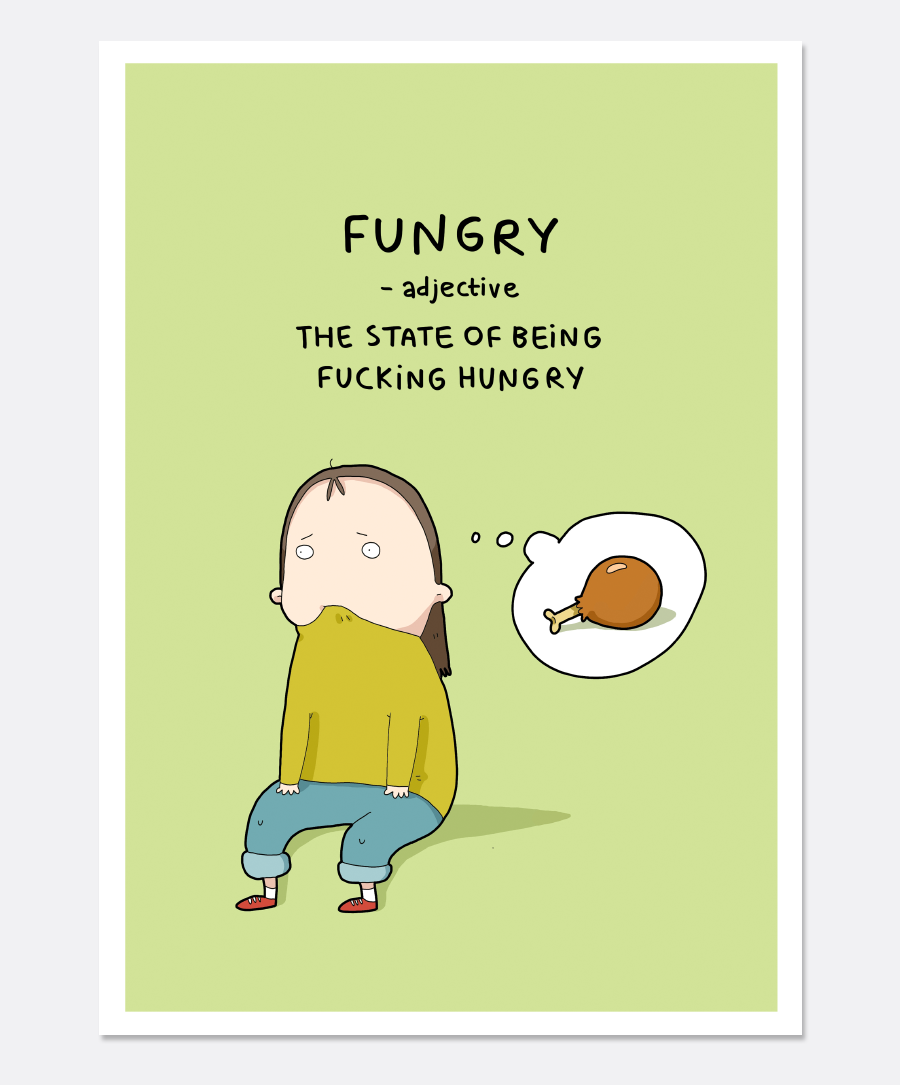 Fungry Print