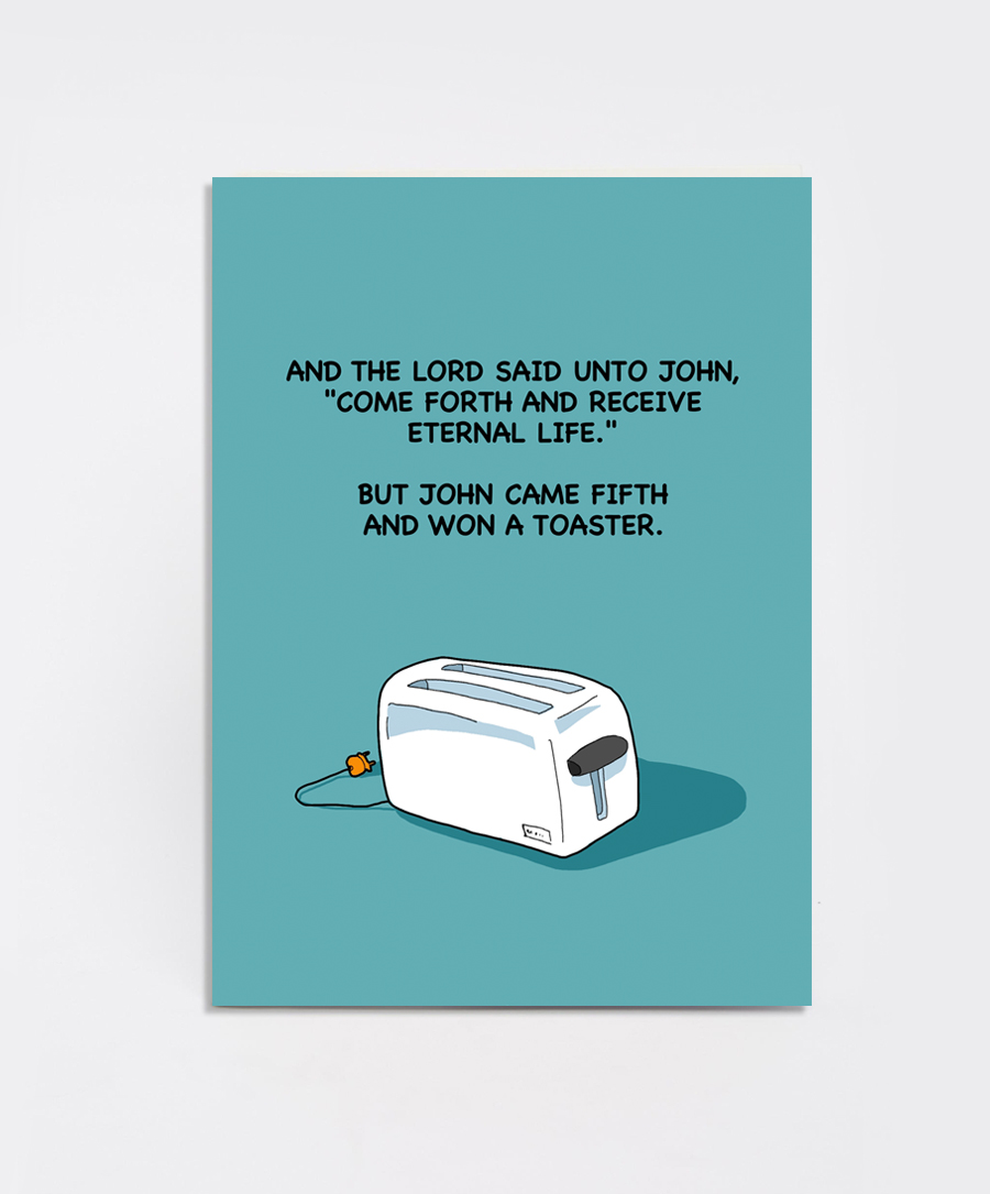 Toaster Card