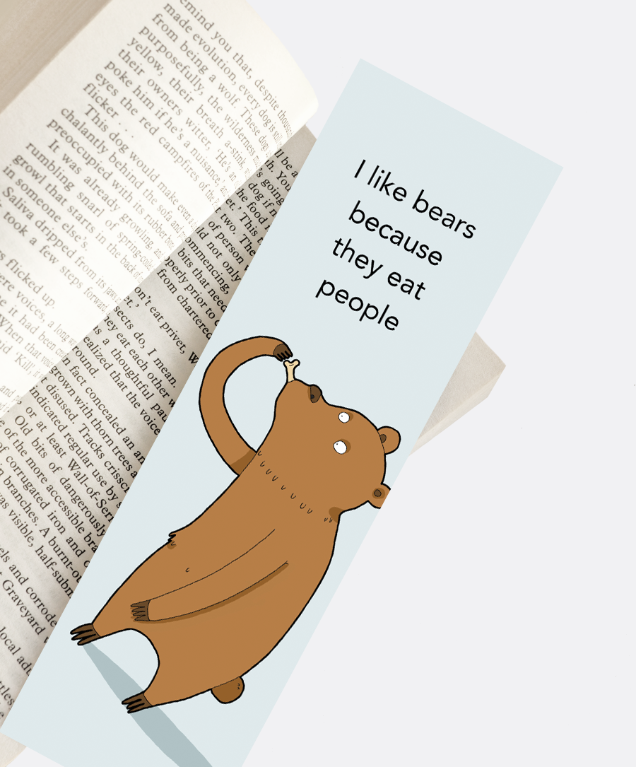 Bears Bookmark