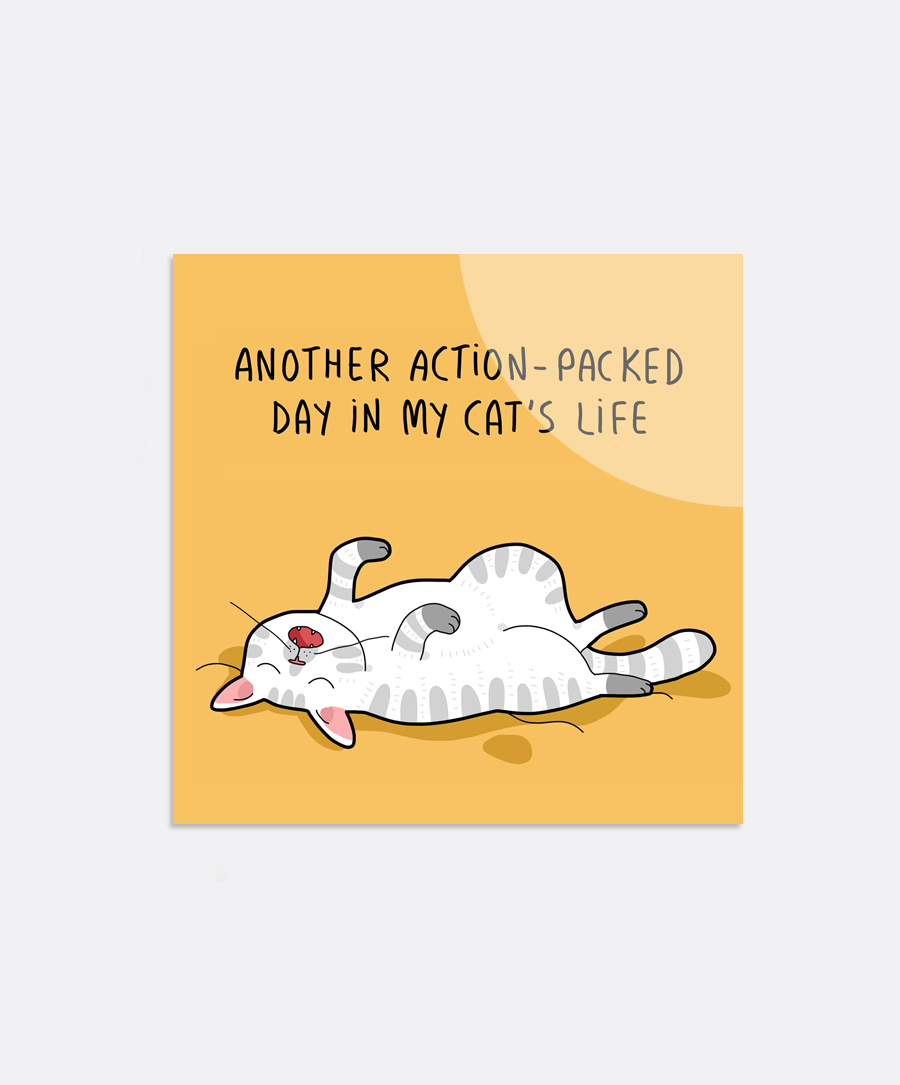 Action-Packed Day Sticker
