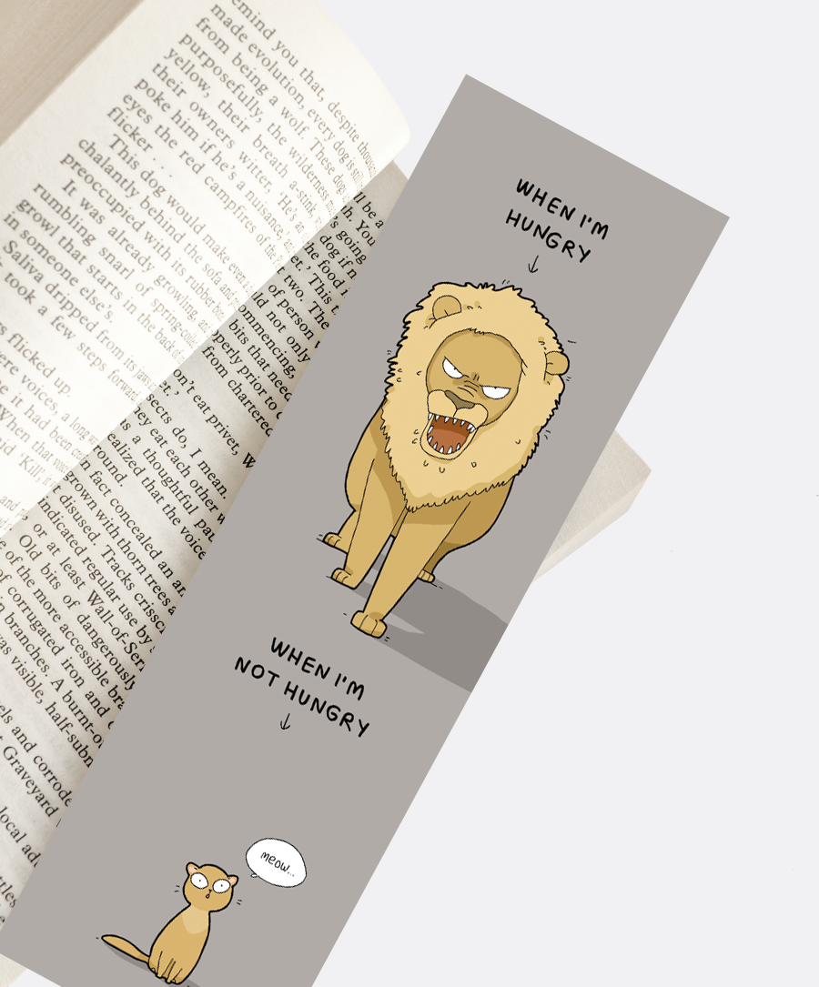 Hungry Bookmark