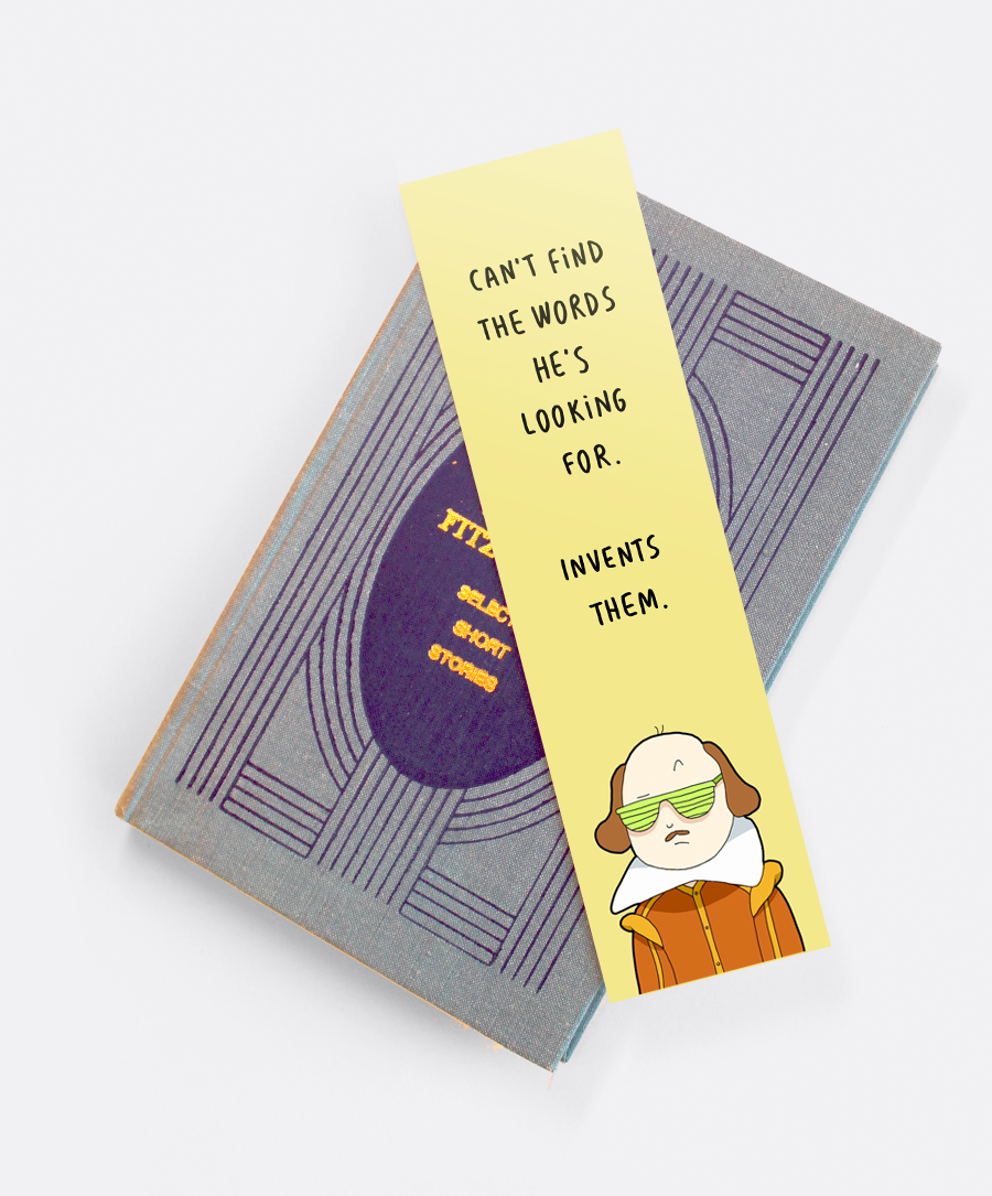 Shakespeare Bookmark
