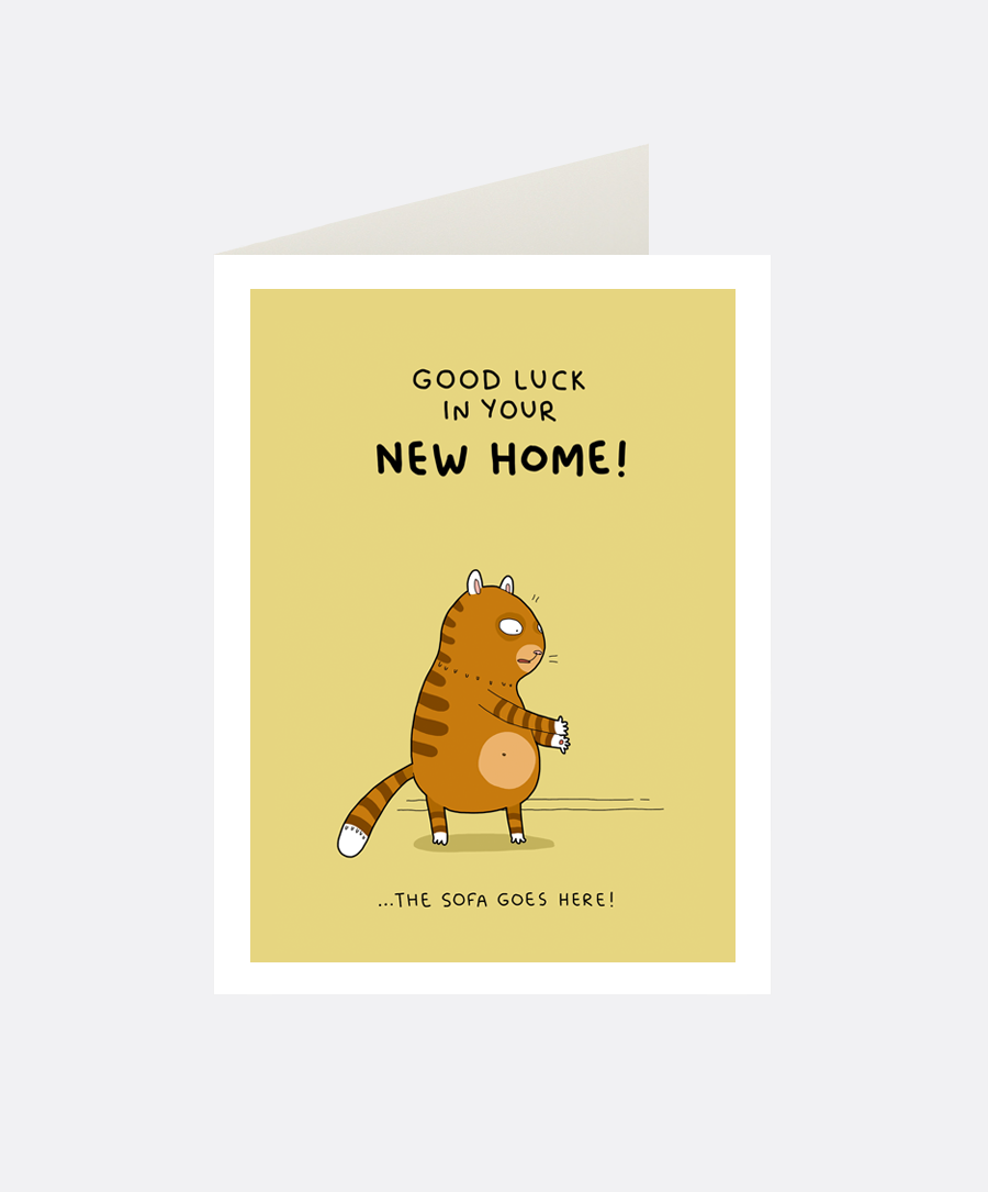 New Home Greeting Card Lingvistov Online Store