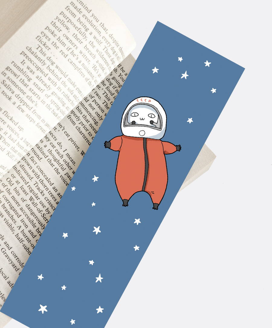 Space Cat Bookmark
