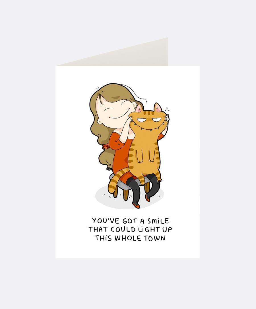 Light Up Greeting Card Lingvistov Online Store