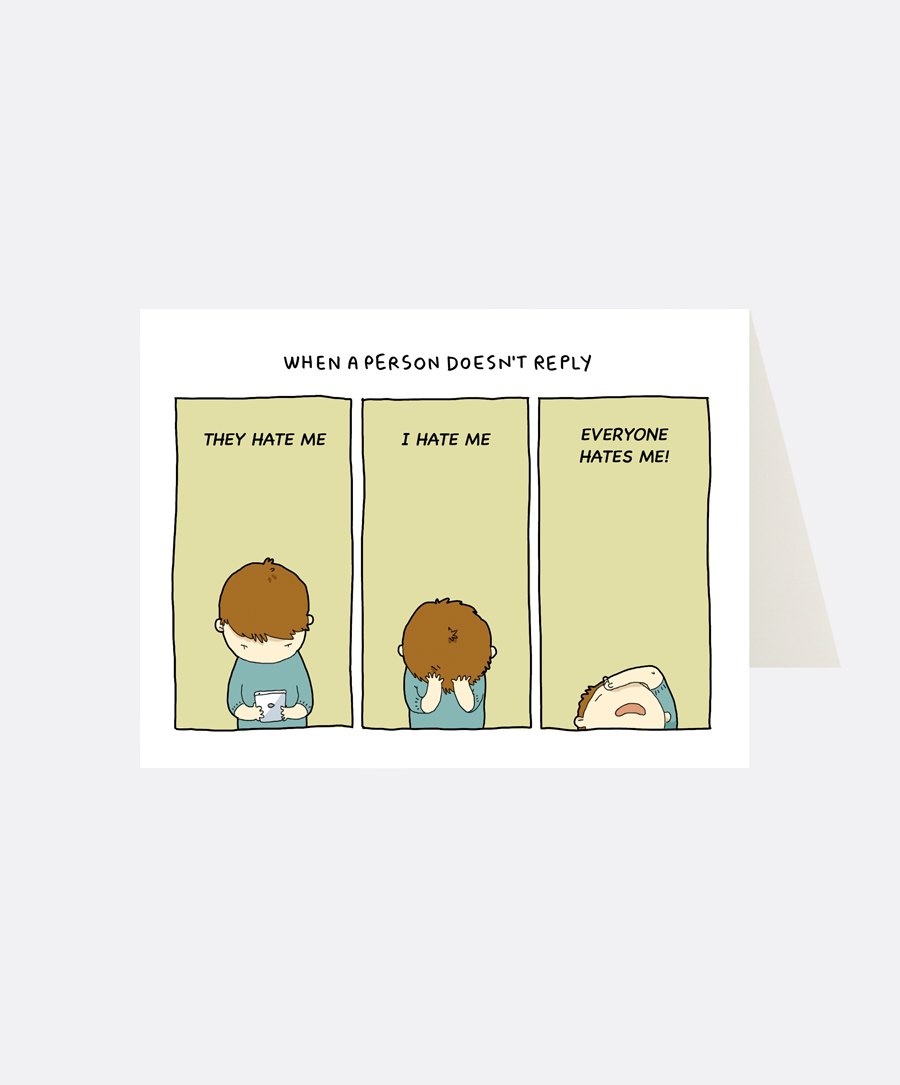 Reply Greeting Card