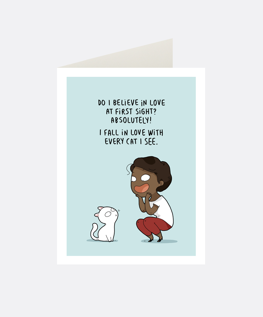 Absolutely Greeting Card