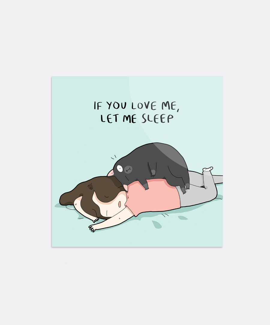 If You Love Me Sticker