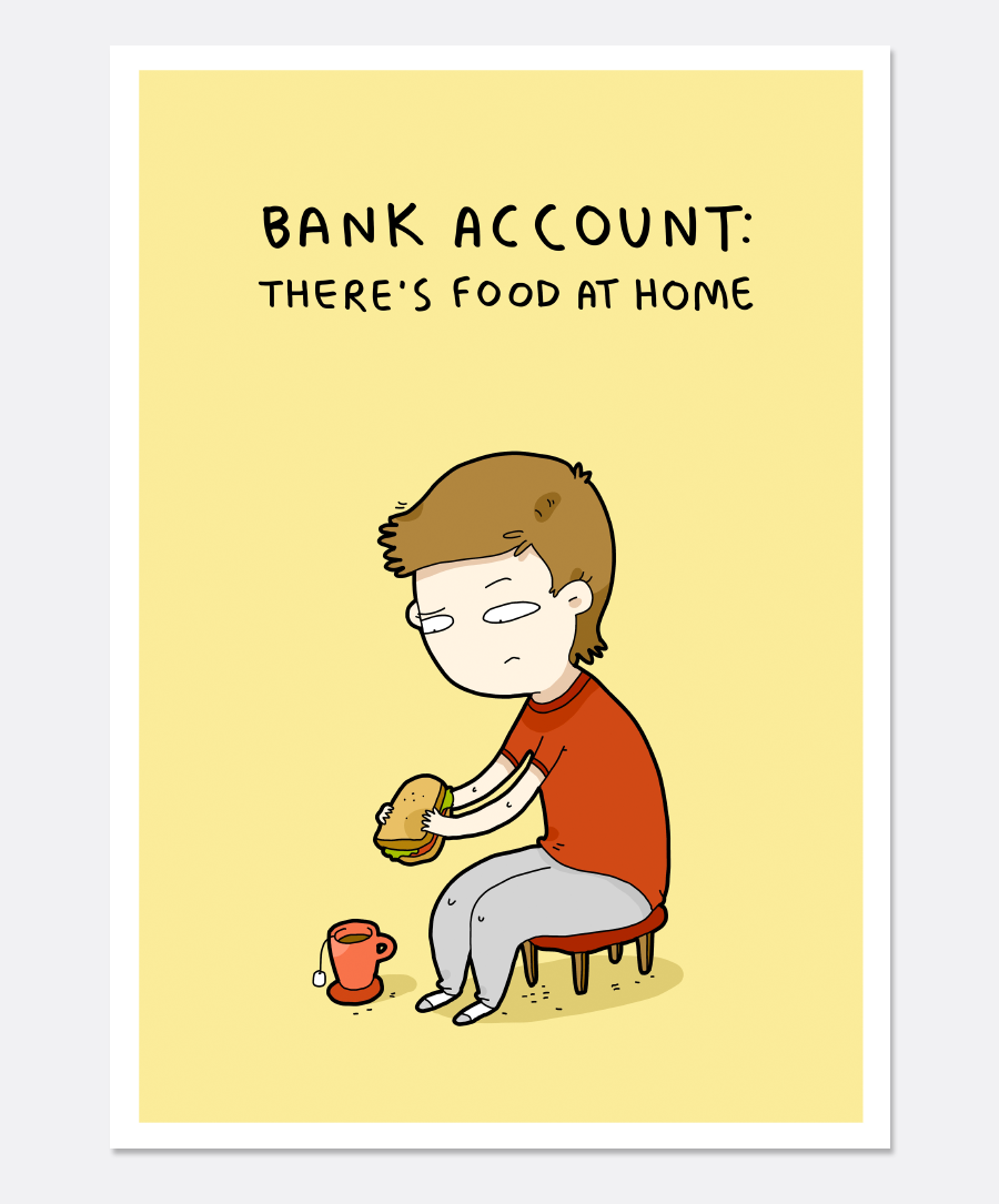 Bank Account Print