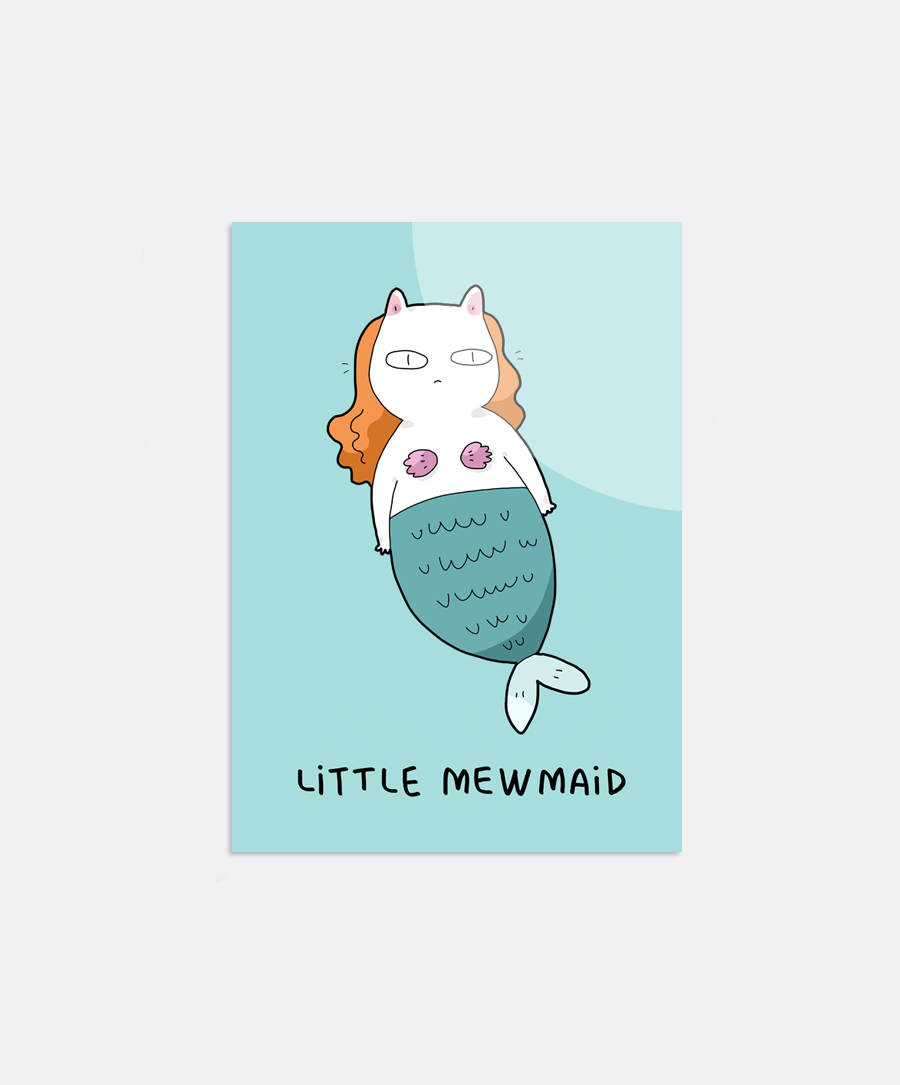 Mewmaid Sticker