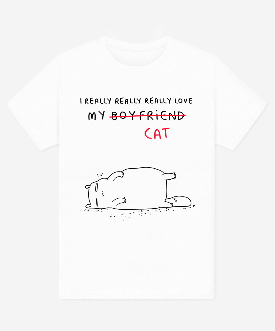 Love My Cat Unisex T-Shirt