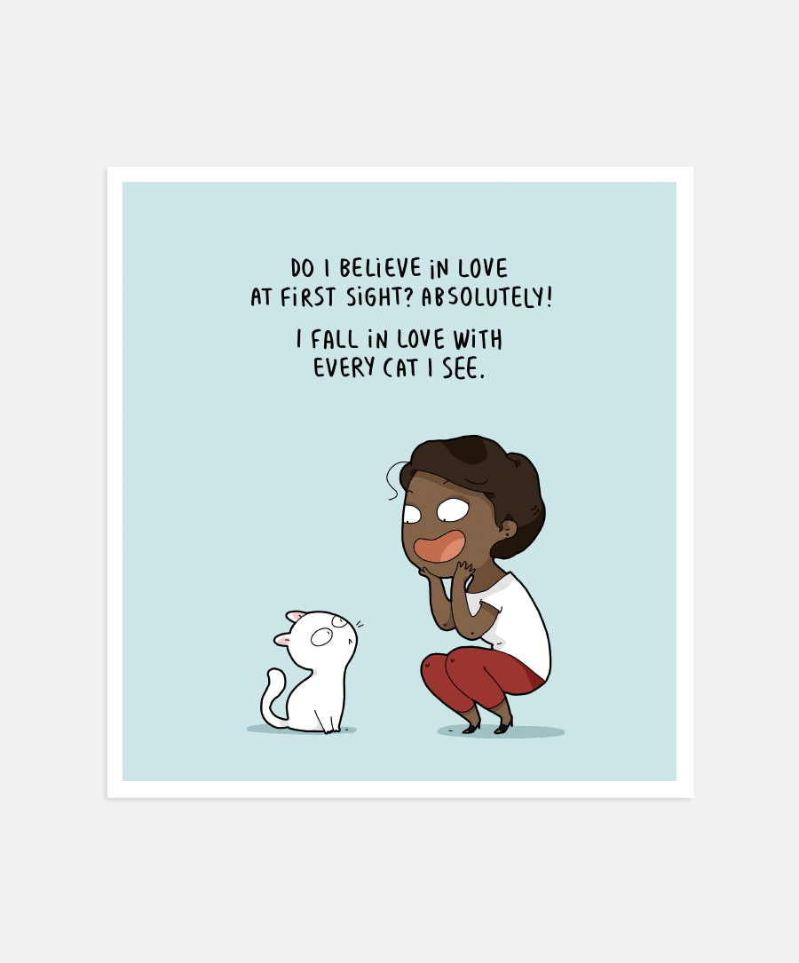 Love At First Sight Mini-Print