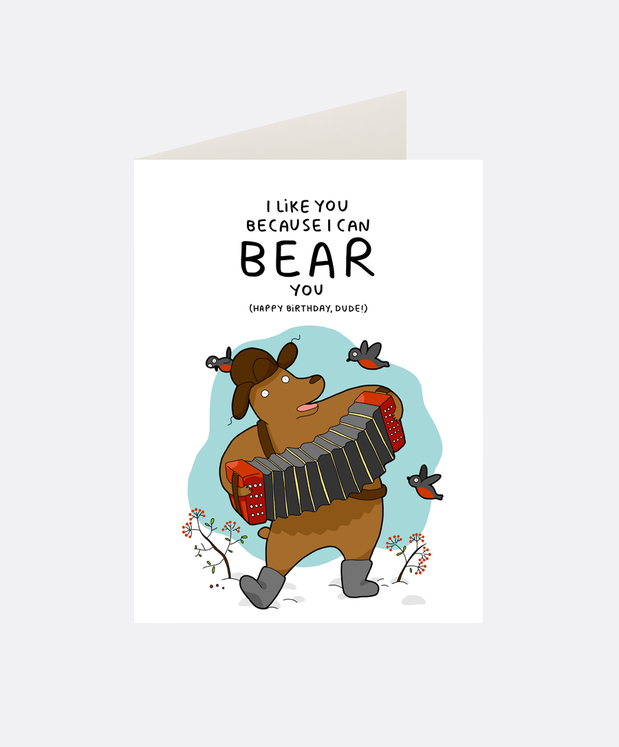 Bear You Greeting Card