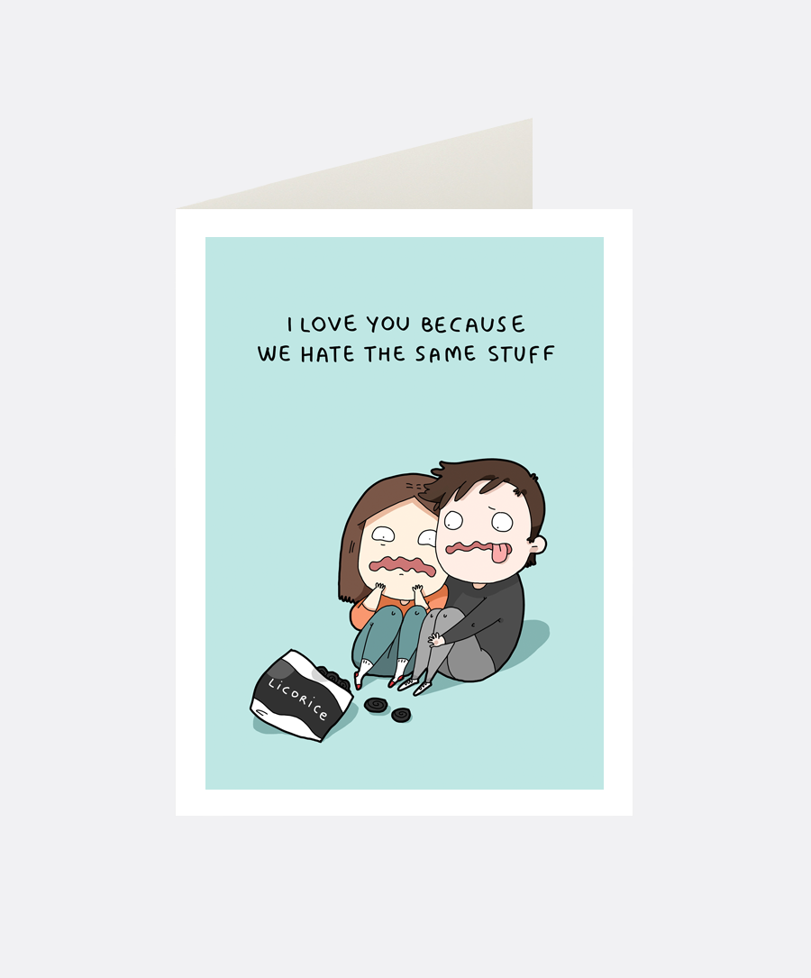 Same Stuff Greeting Card