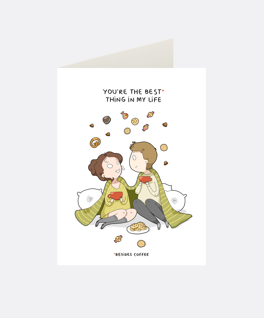 Best Thing Greeting Card
