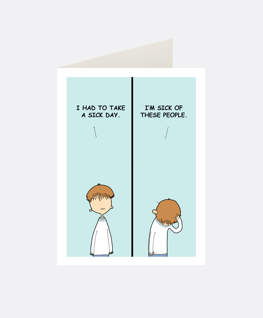 Sicks Greeting Card
