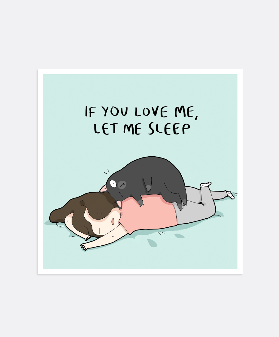 If You Love Me Mini-Print