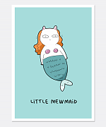 Little Mewmaid Print