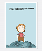 Your Room Is A Mess Print