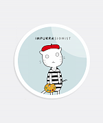 Impurrrsionist Sticker