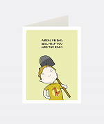 Real Friend Greeting Card
