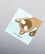 You Awake Sticker