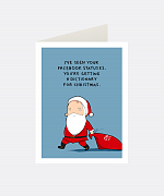 Christmas Present Greeting Card