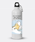 Self-care Time Water Bottle