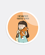Cat Mother Sticker