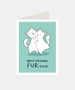 Fur-ever Greeting Card