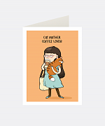 Cat Mother Greeting Card