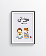 Friends For Life Print
