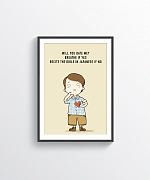 Will You Date Me Print