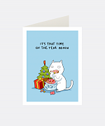 That Time Greeting Card
