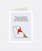 Aspirin Greeting Card