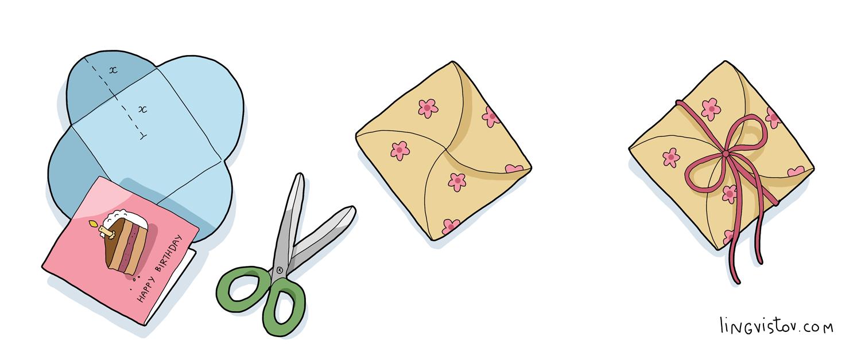 How To Make Square Or Any Size Envelope Lingvistov